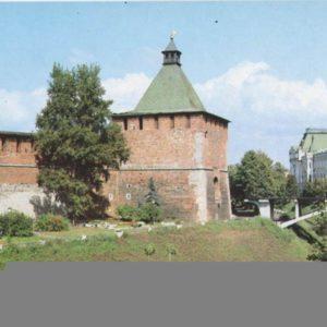 Nikolskaya tower over Zelensky Congress, 1985