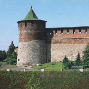 Коромысловая башня. Нижегородский кремль, 1985 год
