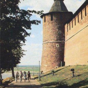 Тайницкая башня. Нижегородский кремль, 1985 год