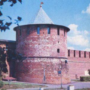 Кладовая башня. Нижегородский кремль, 1985 год