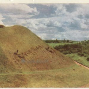 Hillfort Voronich, the rest of the ancient Russian fortress, 1964