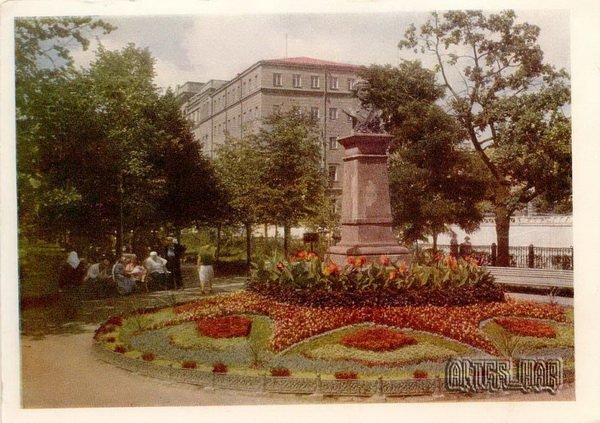 Памятник А.Пушкину. Харьков, 1960 год