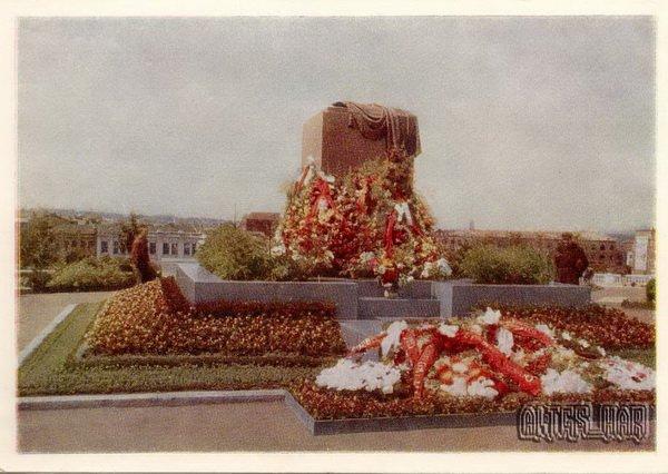 Памятник Жертвам революции, 1960 год