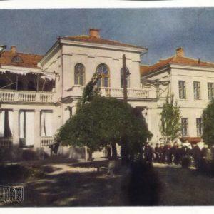 Children's sanatorium asterisk, the main building. Theodosius, 1958