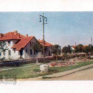 Автостанция на трассе Киев - Харьков. Полтава, 1958 год