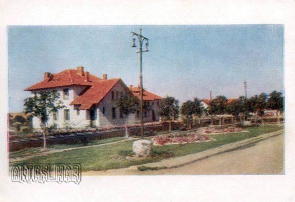 Автостанция на трассе Киев – Харьков. Полтава, 1958 год