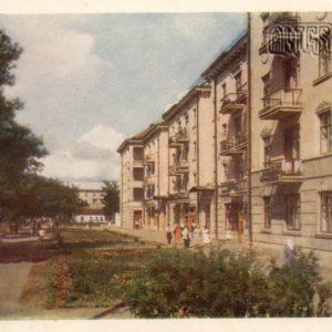 Улица Фрунзе. Полтава, 1958 год