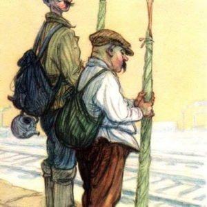На рыбалку, 1956 год