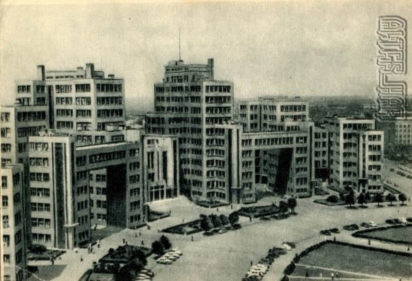 Госпром Харьков, 1955 год