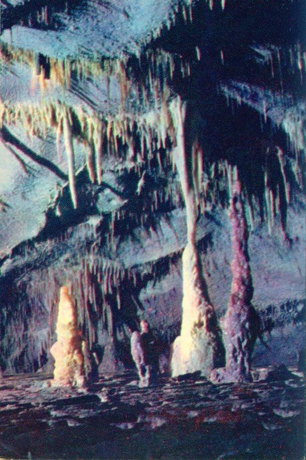 Stalactites, stalagmites .., 1976