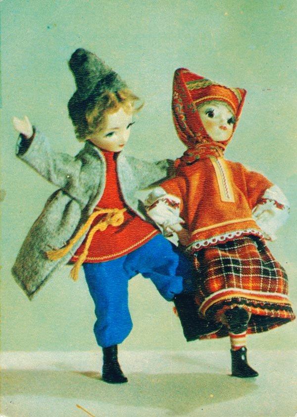 Мороз не велик да стоять не велит, 1968 год