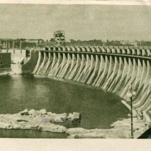 Днепрогэс. Запорожье, 1957 год
