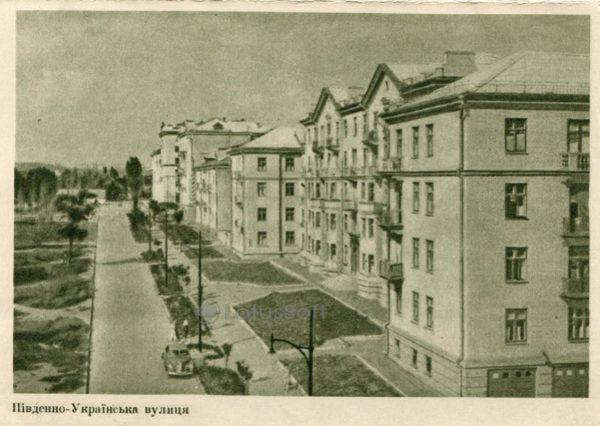 Южно-Украинская улица. Запорожье, 1957 год