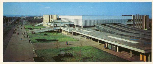 Автовокзал. Ворошиловоград, 1986 год