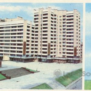 Area Voroshilov. Monument KE Voroshilov. Voroshilovograd, 1986