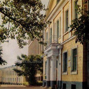 Pushkin street. Vitebsk, 1976