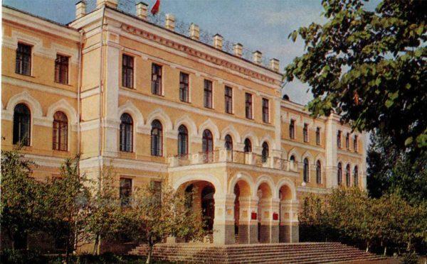 Административное здание. Витебск, 1976 год