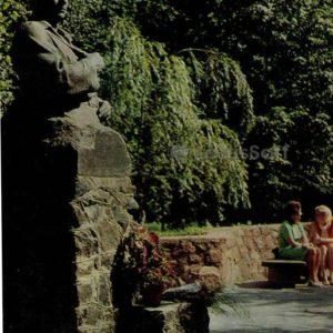 Bust of the Hero of the Soviet Union MF Shmyreva, 1976