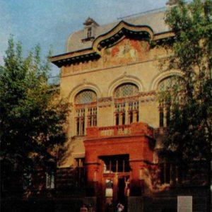 The building of a veterinary institute. Vitebsk, 1976