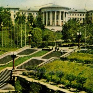 Октябрьский дворец культуры. Киев, 1966 год