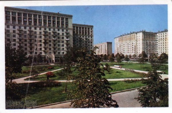 Kutuzov Avenue. Moscow, 1968