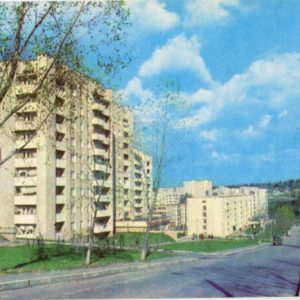 city ??buildings. Truskavets, 1982