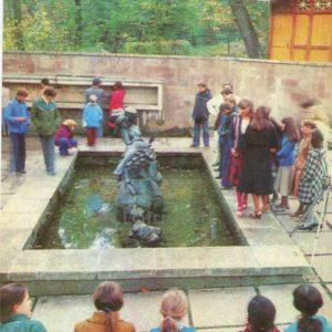 """Источник минеральных вод """"Юзя"""". Трускавец, 1982 год"""