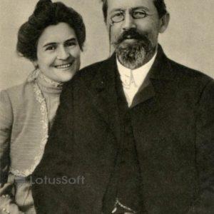 Anton Chekhov and OL Olga Knipper, 1901, 1970