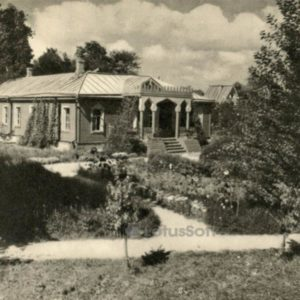 Дом Чехов А.П. в Мелихове, 1959 г, 1970 год