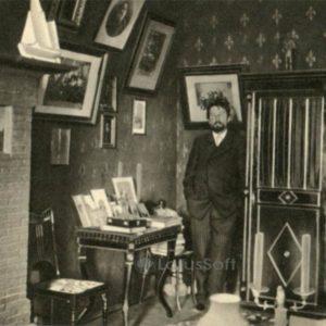 Anton Chekhov in his office in Yalta, 1900, 1970