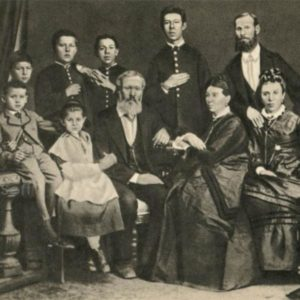 Anton Chekhov in the family. Taganrog, 1874, 1970