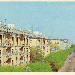 Проспект Ленина. Белгород, 1985 год