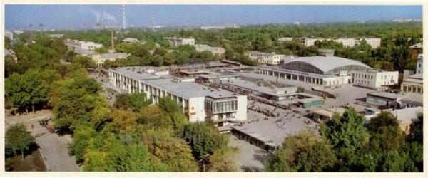 Общественно торговый центр. Белгород, 1985 год