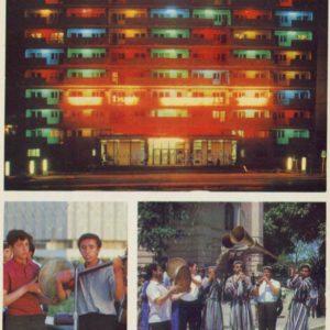 """Dustlik"" hotel. Members of amateur. Tashkent, 1974"