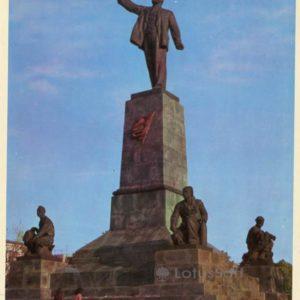 Памятник В.И. Ленину. Севастополь, 1977 год