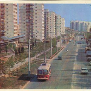 Проспект Острякова. Севастополь, 1977 год