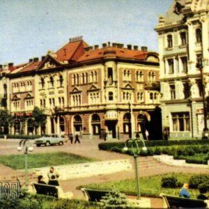 Театральная площадь. Черновцы, 1968 год
