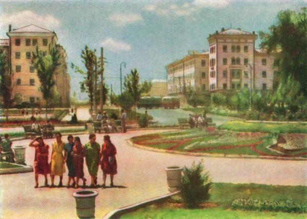 Площадь Фрунзе, 1960 год