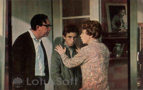 Точка, точка, запятая. Никулин Юрий, Никулина Татьяна, Данченко Сережа, 1973 год