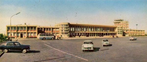 Баку. Аэропорт (1970 год)
