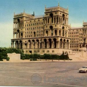 Baku. House Government of the Azerbaijan SSR (1970)
