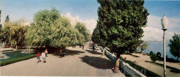 Баку. Приморский парк (1970 год)