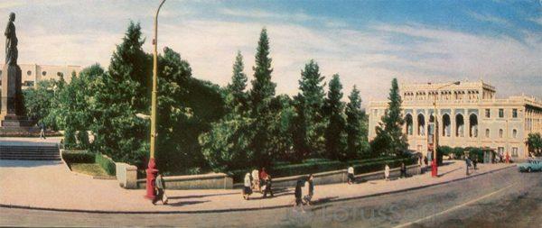 Баку. Музей им. Низами (1970 год)