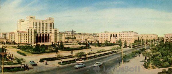 Баку. Академия наук Азербайджанской ССР (1970 год)