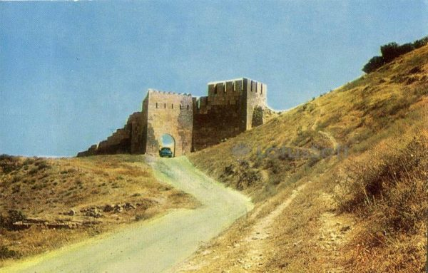 Derbent. Dzharchi-caps - the northern gate of the city wall, 1971
