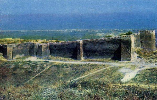 Дербент. Цитадель Нарын-Кала, VI век. н.э), 1971 год