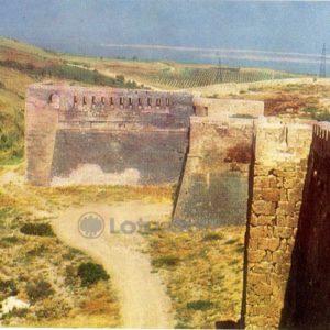 Derbent. The walls of the western part of the citadel Naryn-Kala, 1971