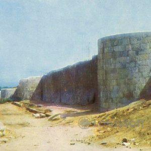 Derbent. Northern city wall, 1971