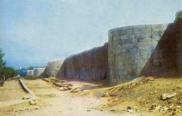 Дербент. Северная городская стена, 1971 год