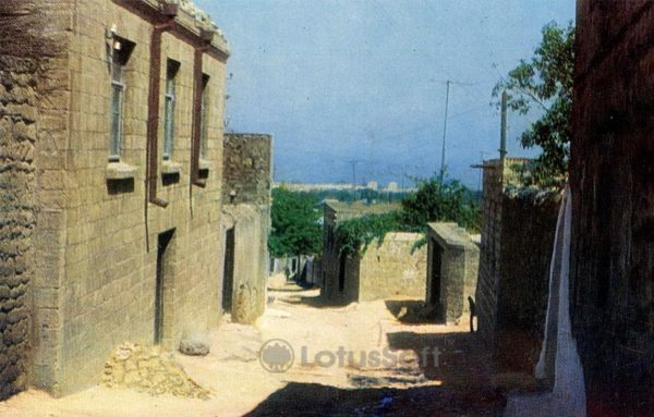Derbent. A street in the old part of the city, in 1971